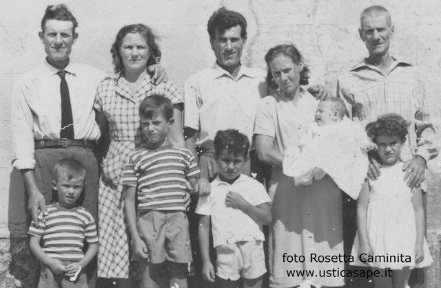 Ustica, foto famiglia Caminita - Famularo