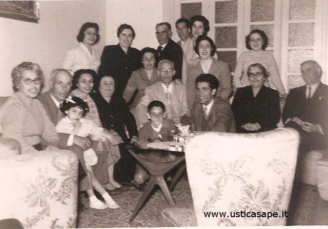 Foto ricordo con la famiglia Natale e Compagno ad Ustica