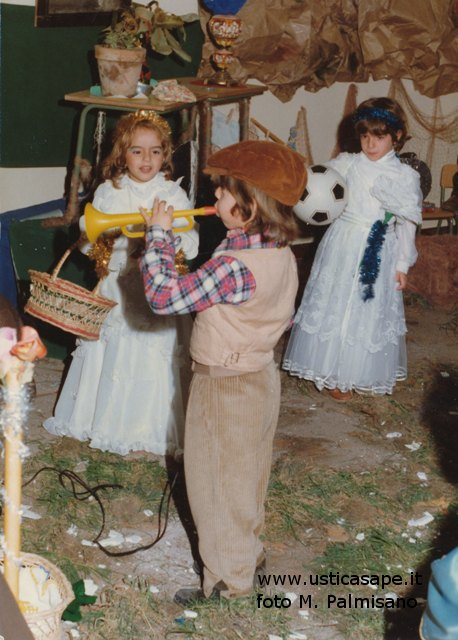Ustica, Recita Natale 1981