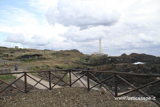 Ustica, zona Faro Punta Cavazzi