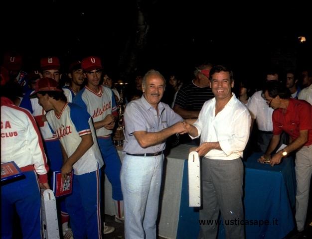 Ustica, Baseball premiazione