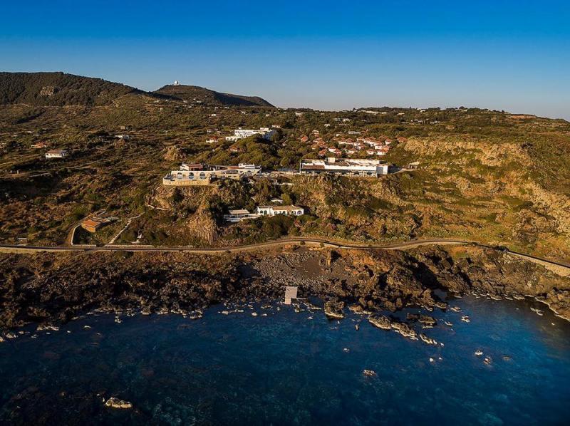 Ustica, zona  Hotel Punta Spalmatore