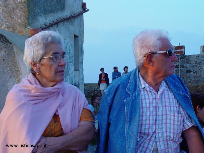 Ustica, Grazia e Guido alla Falconiere (04-09-902)