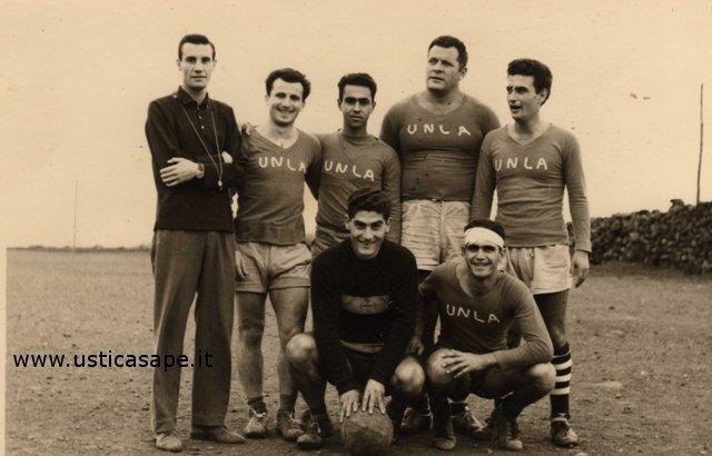 Ustica, squadra di calcio dell'Unione nazionale per la lotta contro l'analfabetismo