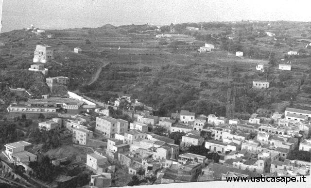 Ustica, panorama visto dalla Falconiera
