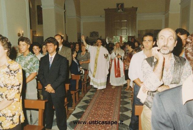 Ustica San Bartolomeo, Santa Messa