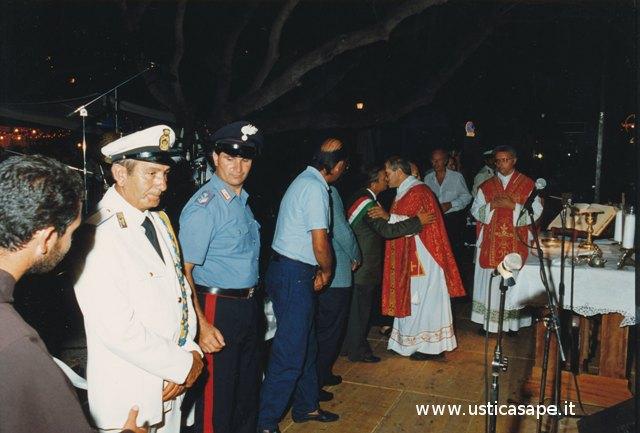 Ustica, Messa di San Bartolomeo in piazza