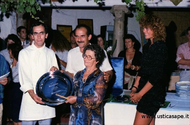 Faraglione, primo premio preparazione piatto tipico usticese