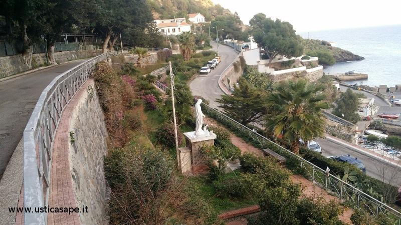 Ustica, zona Madonna dei pescatori