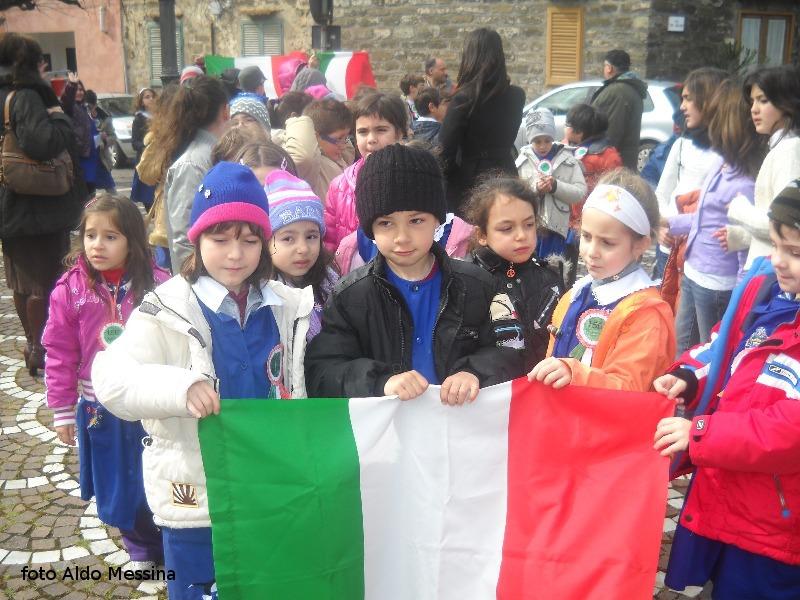 Ustica, festa del tricolore