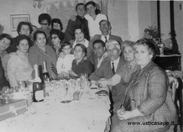 Festeggiamenti casa Licciardi - invitati prima comunione