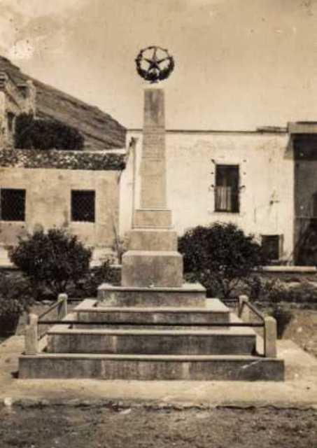 Ustica, Monumento dei Caduti