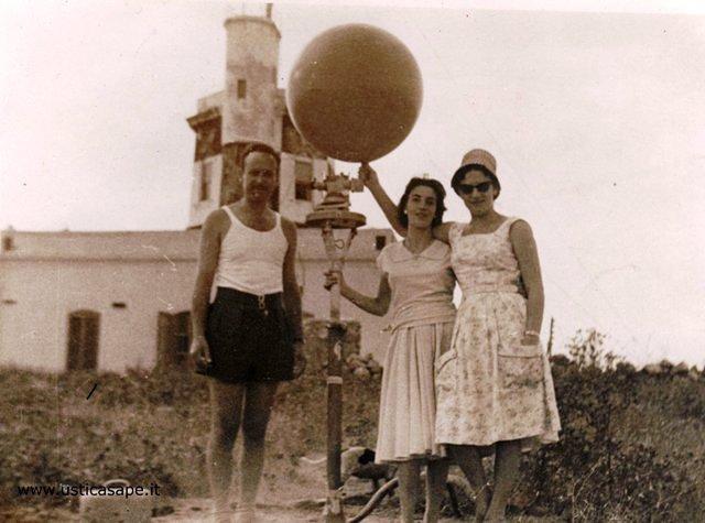 Stazione Meteo, lancio del pallone