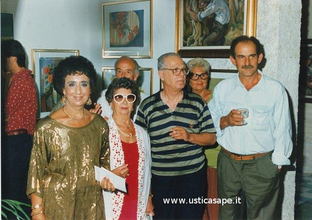 Ustica,  Bottega d'arte Nino Bertucci - mostra di pittura