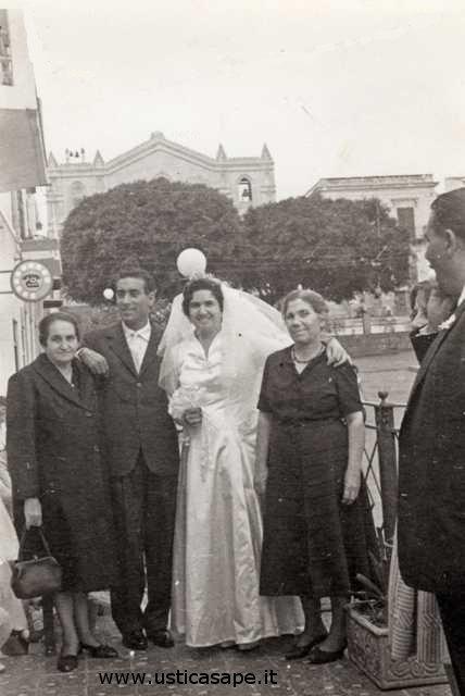 Ustica, Matrimonio E.Licciardi - R.Salerno