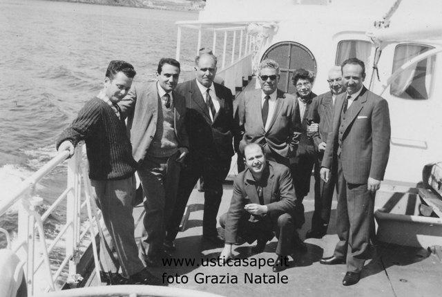 Ustica, delegazione in partenza per Palermo
