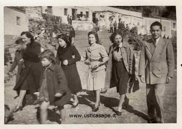 Ustica, Foto anni '50