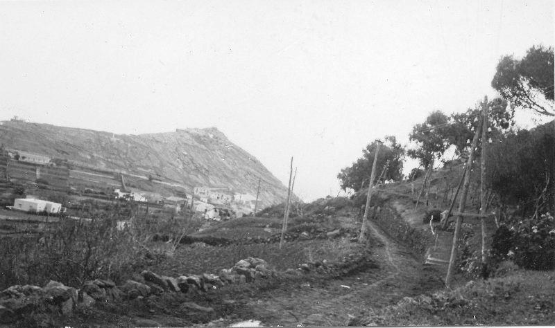 Ustica, dalla strada del boschetto