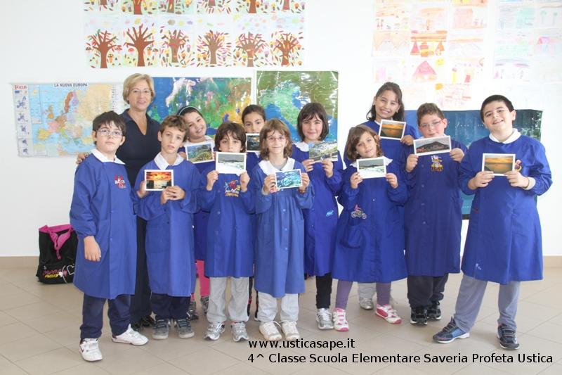 Ustica, quarta classe scuola elementare