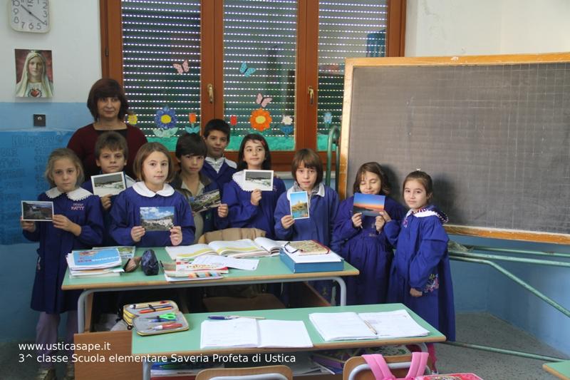 Ustica, Terza Classe Scuola Elementare