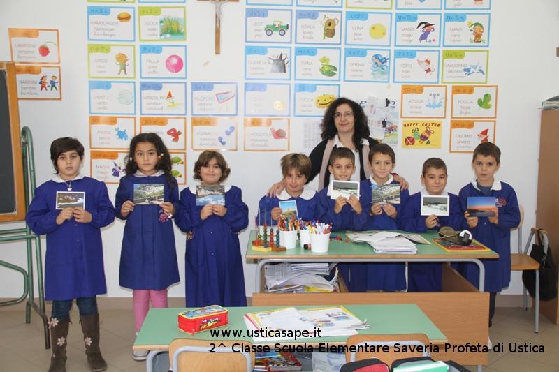 Ustica, Seconda Classe Scuola Elementare