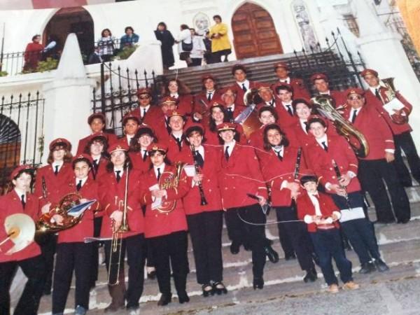 Ustica, ritorna, banda, musicale