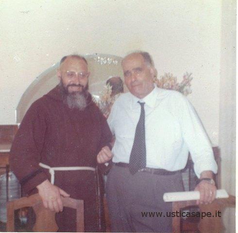 Ustica, Padre  Carmelo e Beniamino Natale