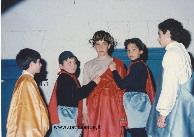 Ustica, Rappresentazione animata Venerdì Santo anno 1990