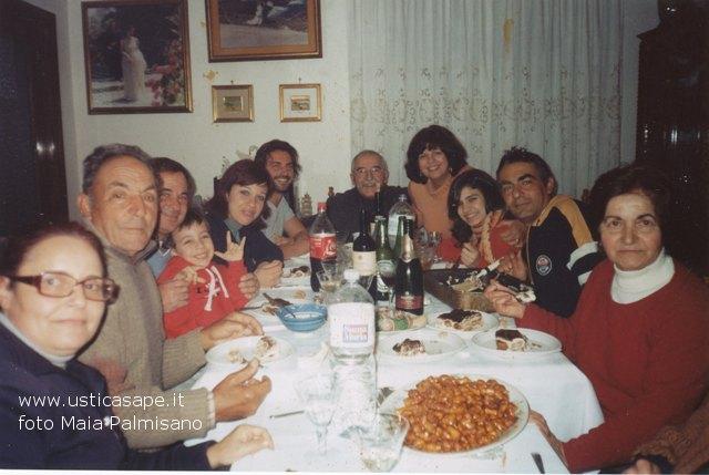 Ustica famiglia Palmisano/Giardino , inviti a cena