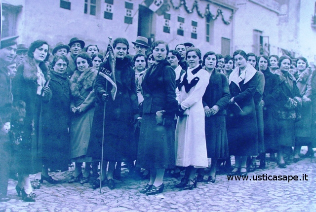 Incontro con le donne dell'Azione Cattolica di Ustica - foto riocordo
