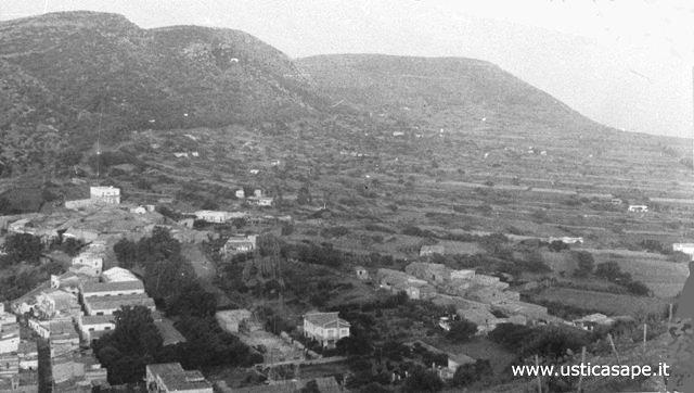 Ustica Tramontana, vecchio panorama