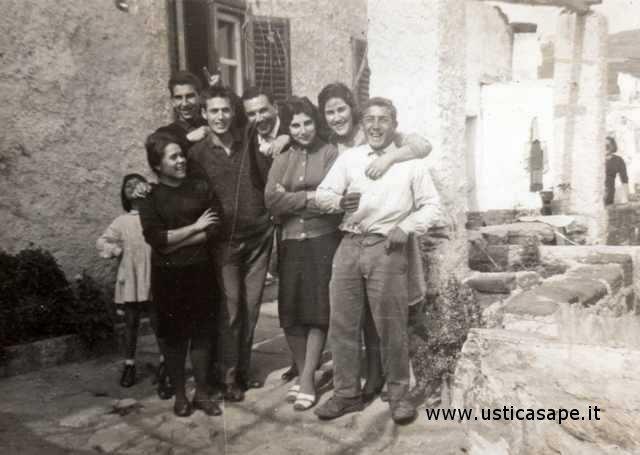 Ustica, foto ricordo