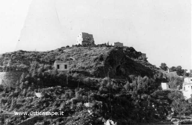 Ustica vecchia foto - Torre Santa Maria - come eravamo