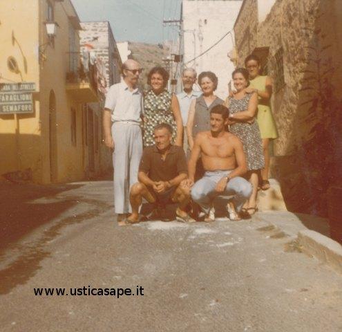 foto, famiglia, Ustica