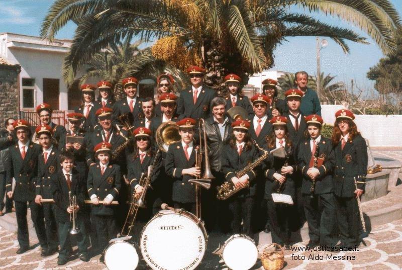 La banda musicale di Ustica al