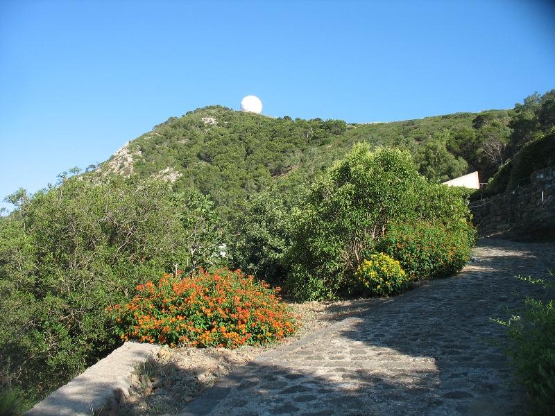 Ustica, Vista da stradina zona Carbonara