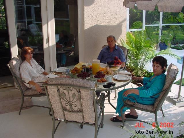 Colazione ad Orlando con Rosa e Pina