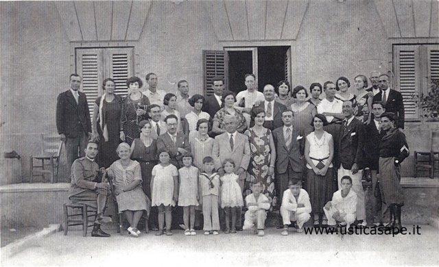 Ustica, foto d'epoca