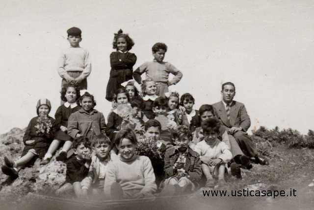 Scolaresca, insegnante Egidio Licciardi Ustica