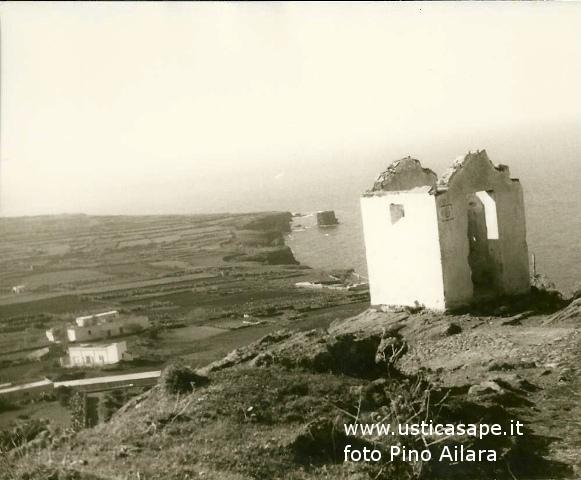 Ustica, dalla Falconiera 1965