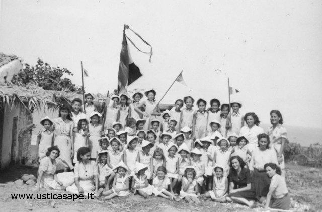 Colonia ragazze anni 50