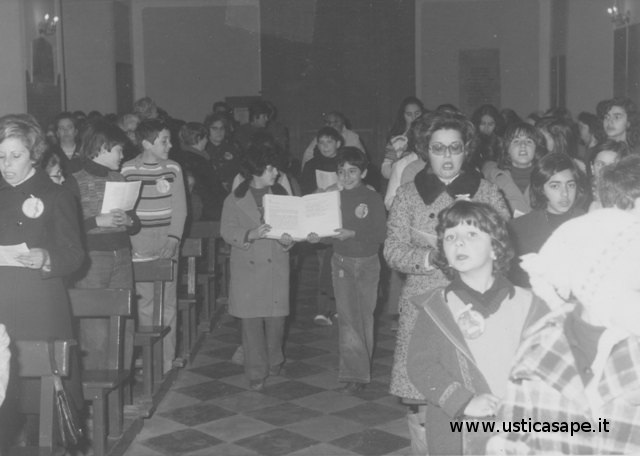 Ustica, Santa Messa molto partecipata