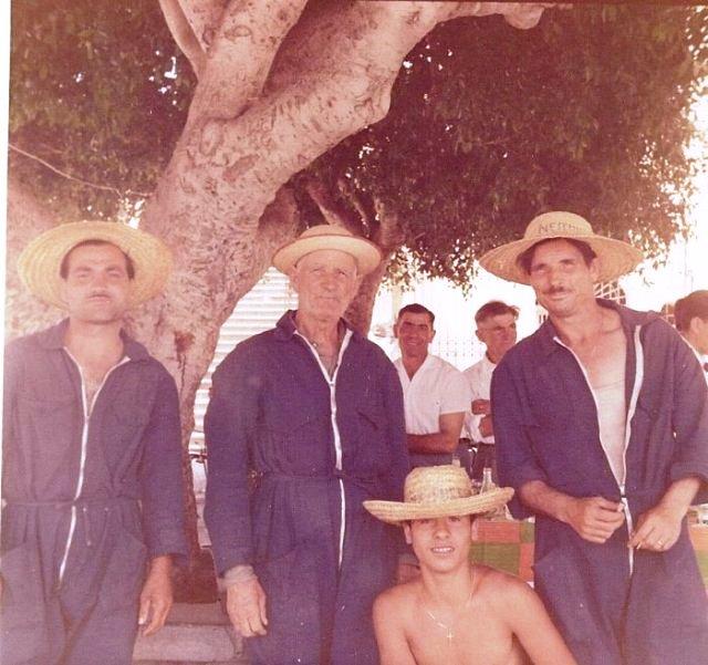 Ustica, tre bravi operatori ecologici del passato