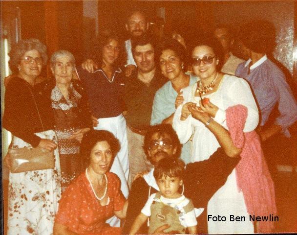Visita Italo Americani ad Ustica, foto ricordo