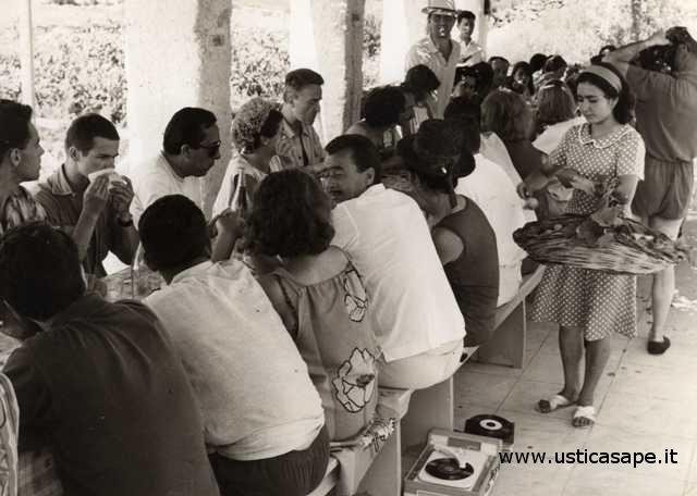 Festeggiamenti in casa Rando 1960