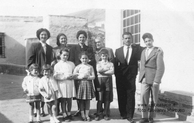 Per ricordare i giorni trascorsi ad Ustica della Famiglia Lauricella dalla California