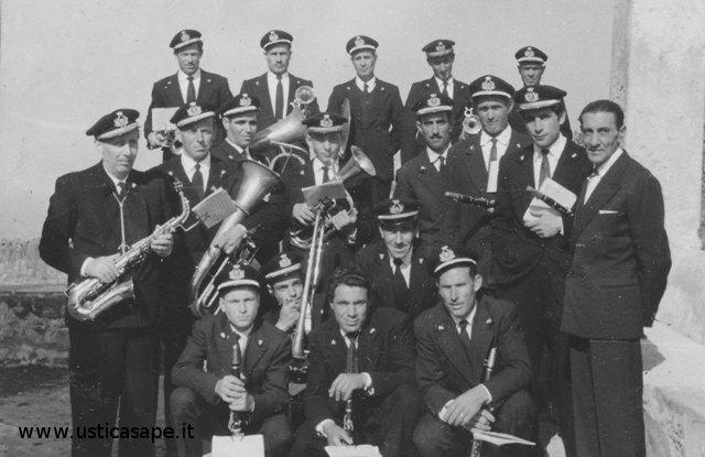 Banda di Ustica, anno 1958