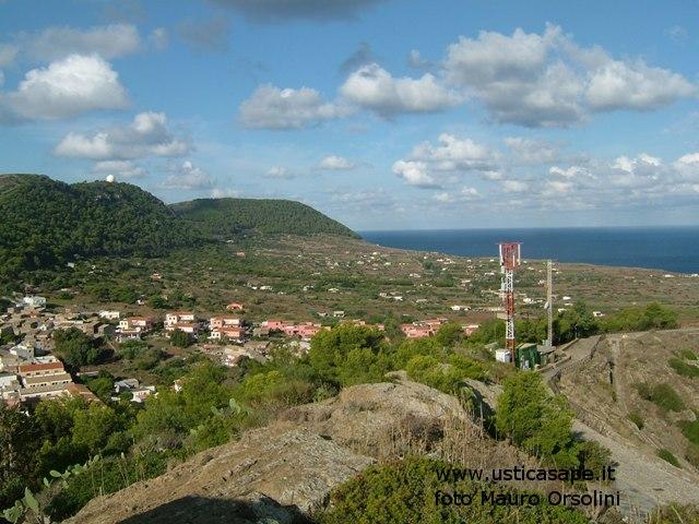 Ustica, Tramontana vista dalla Falconiera