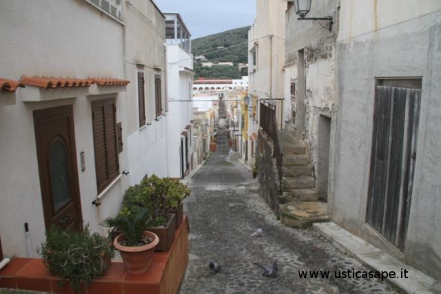 Ustica, via Calvario