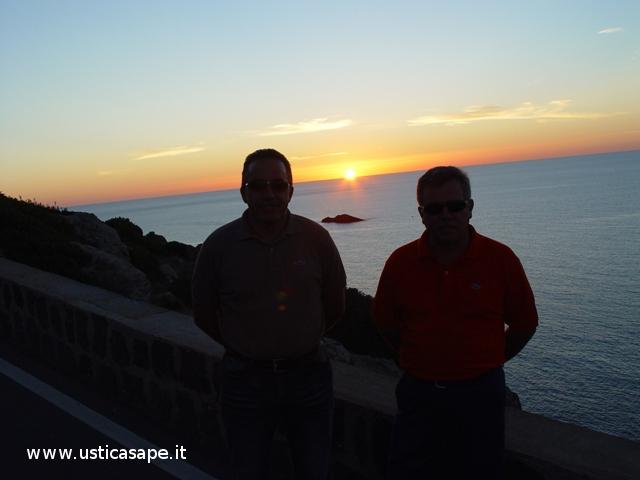 Ustica, due marescialli al tramonto